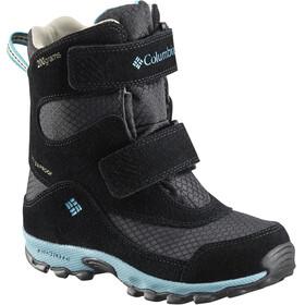 Columbia Parkers Peak Hook-and-Loop Boots Kids, black/pacific rim